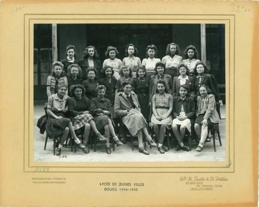 La promotion 1944-1945, classe de 2e ABC