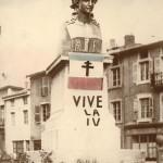 Unique cliché connu de la Marianne érigée le 11 novembre1943
