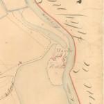 A proximité du Puits des Tines se trouvait le moulin de La Roche dont les ruines sont encore visibles aujourd'hui.