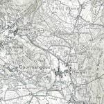Carte détaillée des environs du Mont-Myon