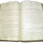 La « Coutume des étangs » est un traité sur le fonctionnement et les principes d'exploitation des étangs en Dombes. Manuscrit de J. B. Riboud dit l'aîné, vers 1770