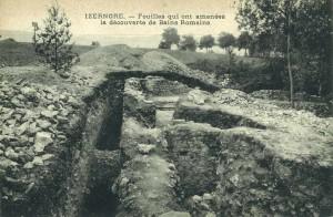 Des thermes mis à jour lors de fouilles archéologiques il y a plus d'un siècle