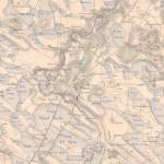 Extrait de la carte hydrographique de la Dombes, 1857