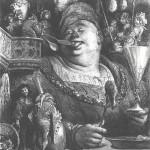 Le festin de Gargantua vu par Gustave Doré