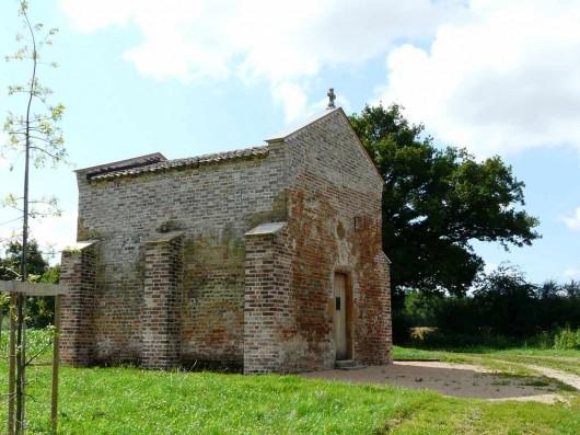 La chapelle d'Aigrefeuille après sa restauration en 2008