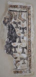 La figuration de saint Antoine dans l'église de Vieu d'Izenave