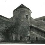 La tour ronde vue de l'intérieur