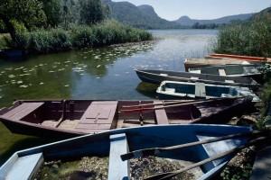 Le lac de Barterand à Pollieu