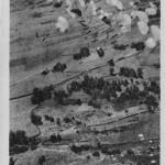 Le parachutage d'Echallon a été immortalisé par l'édition de cartes postales