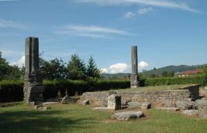 Le temple d'Izernore aujourd'hui