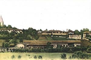 Le village de Saint-Jean-sur-Reyssouze