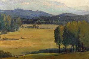 Le Marais de l'Ourson par Yvonne Récamier (première moitié du XXe siècle)