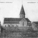 Vue du village de Ceyzériat